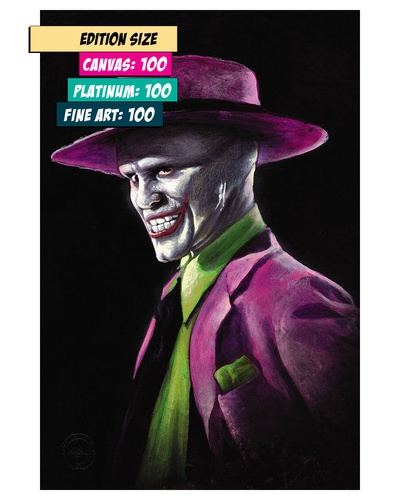THE MASK/JOKER MASH-UP