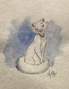 The Aristocats: Duchess - Watercolor