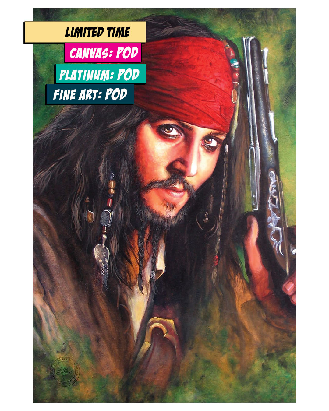 PIRATES OF THE CARRIBEAN: CAPTAIN JACK SPARROW